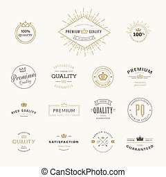 stickers, set, kwaliteit, premie