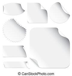 Stickers (vector)