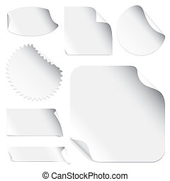 Stickers (vector)