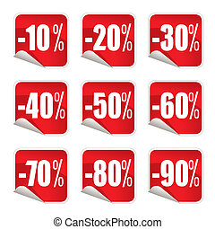 stickers, verkoop