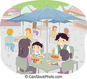 Stickman Family Dining Al Fresco