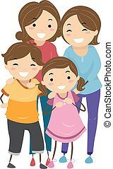 Stickman Family