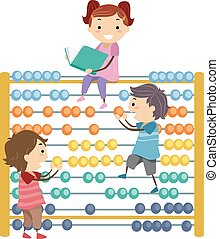 Stickman Kids Abacus