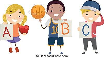 Stickman Kids Apple Ball Cap