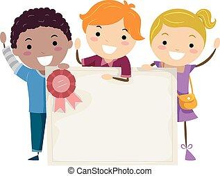 Stickman Kids Group Certificate