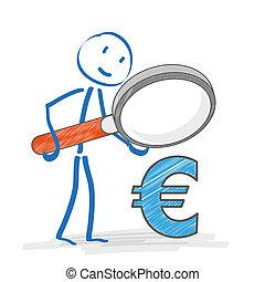 Stickmen Loupe Euro