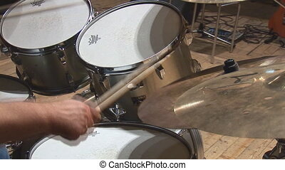 drums - sticks beat the drums
