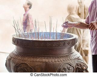 sticks of incense