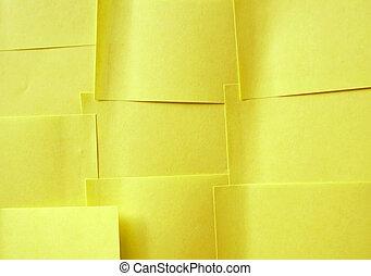 sticky note background