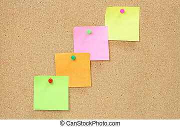 Sticky poster board for pictures