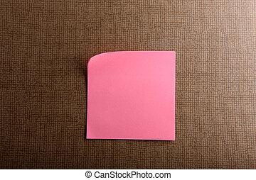 sticky notes.