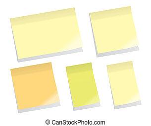 Sticky Notes (vector)