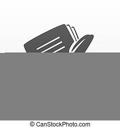 stift, notizbuch