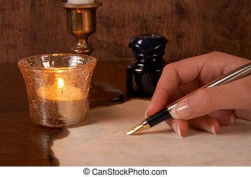 stift, pergament