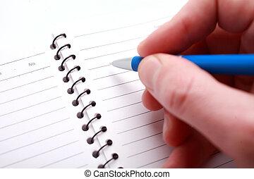 stift, schreibende