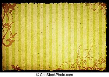 stijl, achtergronden, texturen, floral, frame