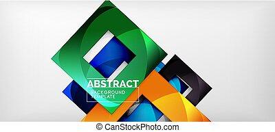 stijl, plein, copyspace, abstract, gedaantes, achtergrond., grijze , glanzend, mal, minimalistic, geometrisch, samenstelling