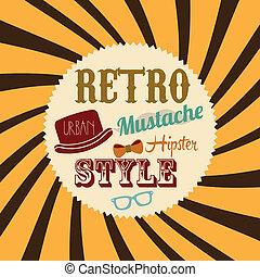 stijl, retro