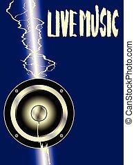 stike, driver, lampo, chitarra, musica viva
