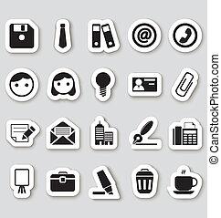 stikers, ämbete ikon