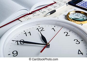 stil, clockface, vida, empresa / negocio