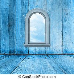 stil, grunge, windows, zimmer, inneneinrichtung, altes , barock