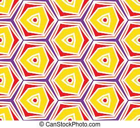 stil, mode,  80&#39,  s, Årgång, abstrakt,  seamless, bakgrund, mönster,  Memphis, stil, trianglar