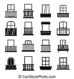 Wohnung stil satz heiligenbilder balkon formen for Einfache fenster