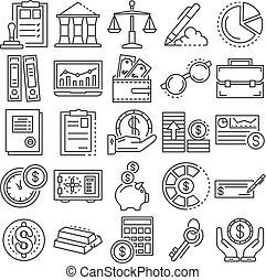 stil, skissera, sätta, bokföring, dag, ikon
