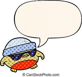 stil, sonnenbrille, karikatur, buch, vortrag halten ,...