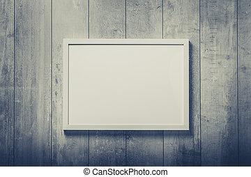 stil, väggen inramar, nymodig, komposition, tom