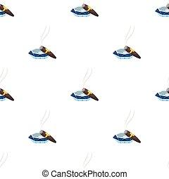 stile, ashtray., simbolo, sigaro, web., illustrazione, sigari, singolo, vettore, fumo, icona, cartone animato, casato