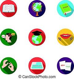 stile, casato, simbolo, translator, russia., insegnamento, ...