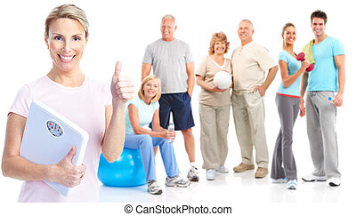 stile di vita, idoneità, palestra, sano