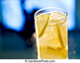 stile, highball, lemonade-