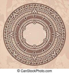 Calendario Greco.Antico Piatti Modello Greco Fondo Style Circolare