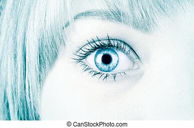 stile, occhio donna, ciao-tecnologia