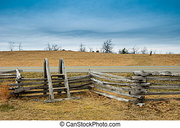 Stile over a fence along the Blue Ridge Parkway.dng