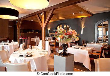 stile, ristorante, classico