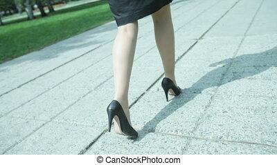stilettos, business