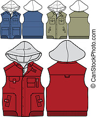 stili, ragazzo, 3, hoodies
