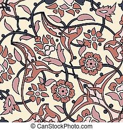 tapete orientalische steigung wallpaper bunte. Black Bedroom Furniture Sets. Home Design Ideas