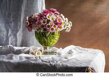 Still Life bouquet daisies flowers
