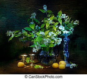 bouquet of flowers in a vase