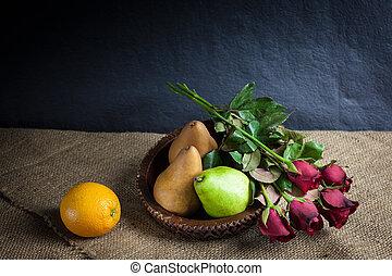 Still life fruits
