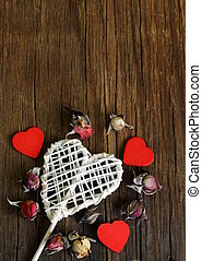 still life heart