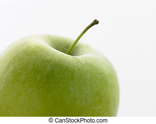 Still Life Of A Green Apple