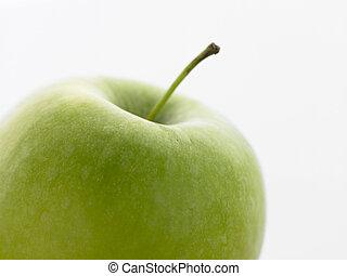 Still Life Of A Green Apple