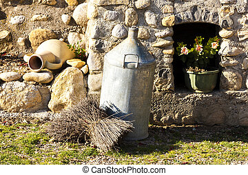 still life of lavenders, Provence, France
