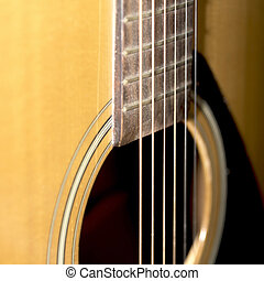 still life part of guitar